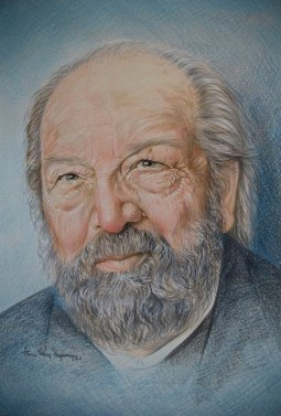 """Bud Spencer"", 2016, pastello"